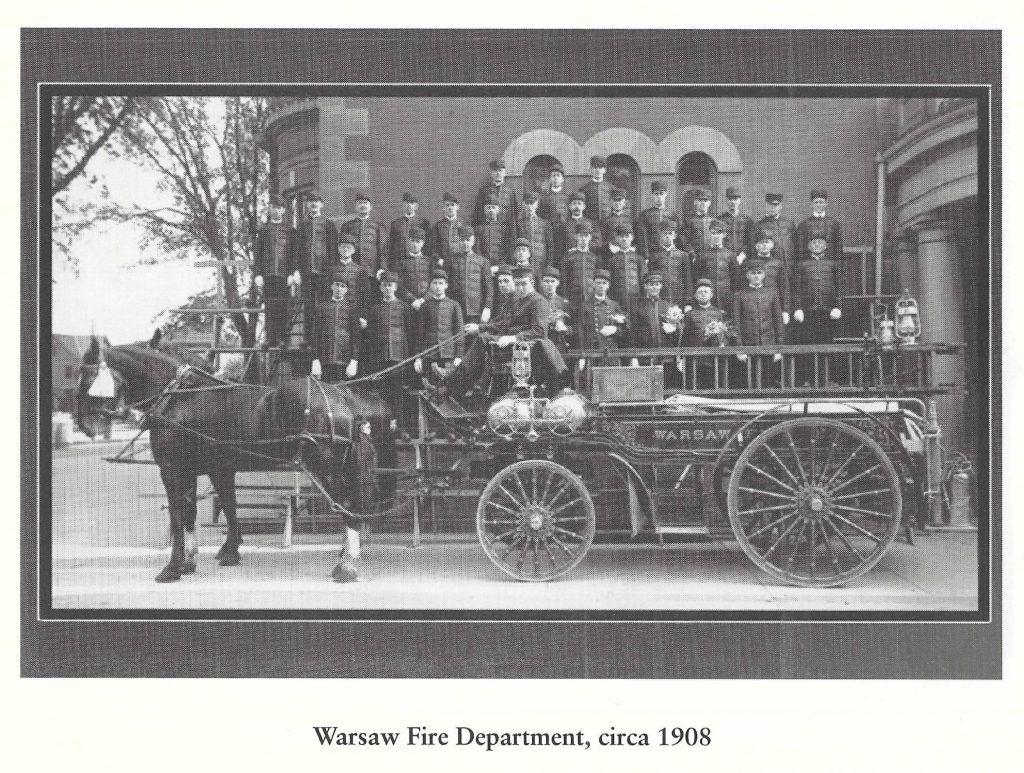 Warsaw Fire Department 1908